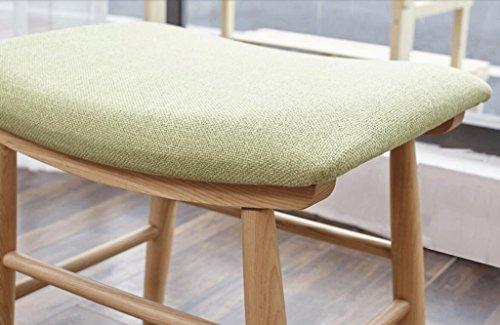 Sgabello da sofà sgabello da trucco in rovere sgabello da scrivania