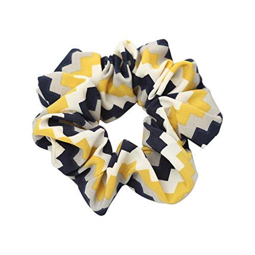Likecrazy Haar Stirnband elastischem Haargummis Haarband Inhaber Haar Band der Frauen Pferdeschwanz Kopfband Inhaber Haar Seilring Damen Zubehör Seil Ring Krawatte