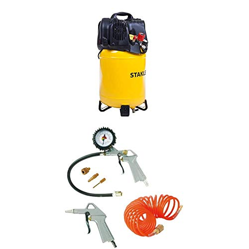 STANLEY Compressor D200/10/24V + Airtoolkit 6 pieces