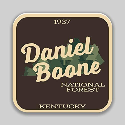 JMM Industries Daniel Boone National Forest Kentucky Vinyl-Aufkleber für Autofenster, Stoßstange, 10,2 cm, Premium-Qualität, UV-Schutz, Laminat PDS1385