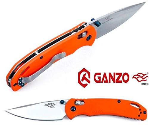 Firebird - Naranja G10 Cuchillo Plegable Acero Inoxidable
