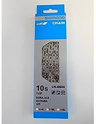 Shimano Kette Ultegra CN-6600 10-fach für 3-fach Kurbeln, I-CN6600116I