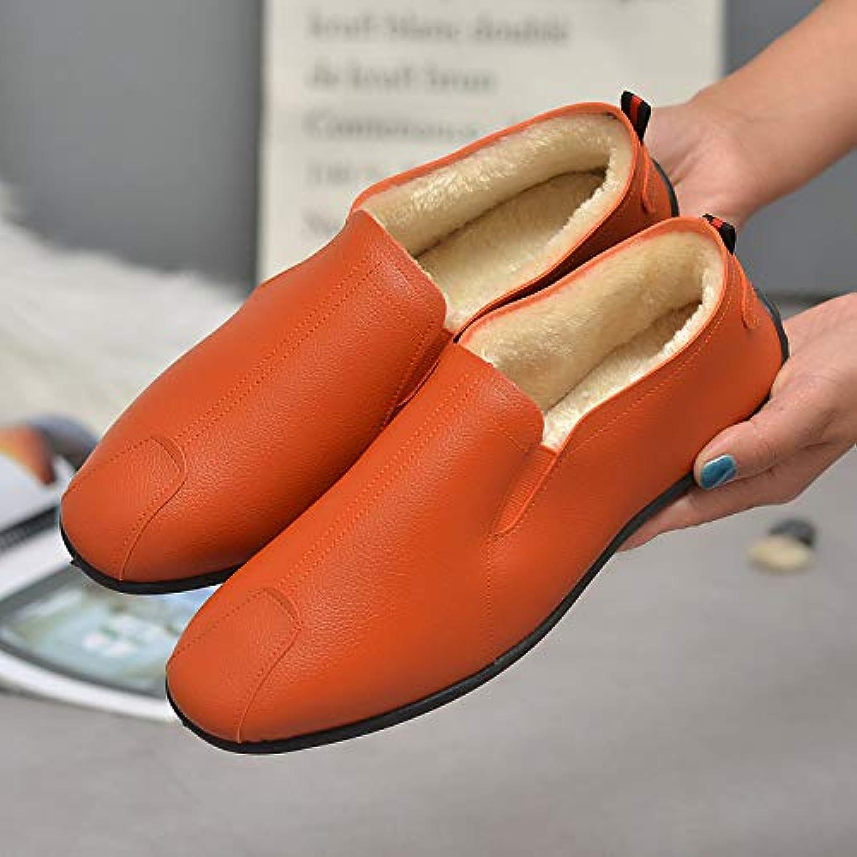 LOVDRAM Stivali da Uomo Uomo Uomo Scarpe Invernali Nuove con Piselli Bassi per Aiutare Le Calzature Casual da Uomo Fashion... | Speciale Offerta  | Maschio/Ragazze Scarpa  7fc631