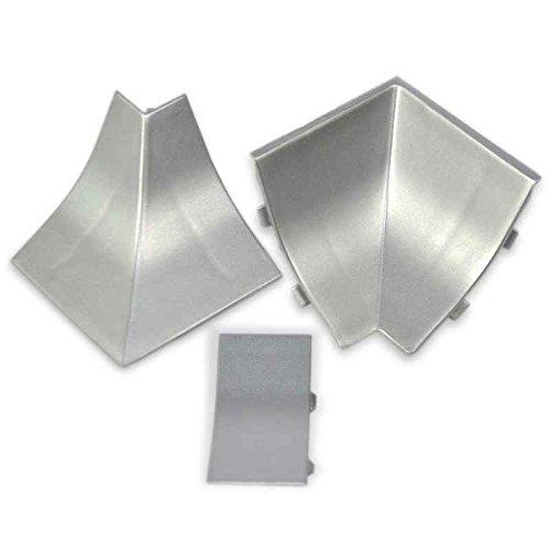 Innenecken passend zum Dekor Ihrer KÜCHENABSCHLUSSLEISTEN (Innenkante) - Nur für LB 23x23mm ALLE DEKORE