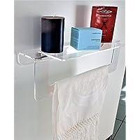 Plexiglass accessori per il bagno bagno casa e cucina - Amazon accessori bagno ...