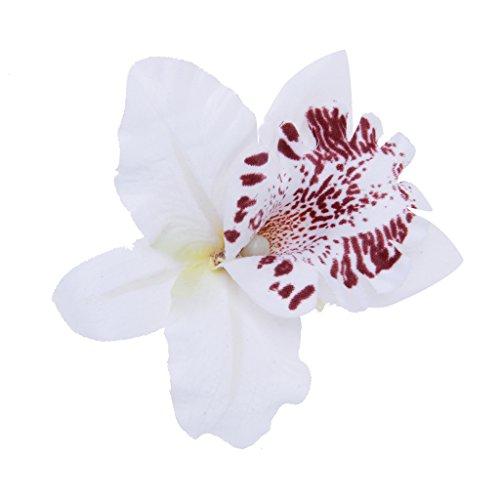 Joyera-Joyas-para-Pelo-Clip-de-Pelo-Broche-Flor-Leopard-Decoracin-Nupcial-Blanco