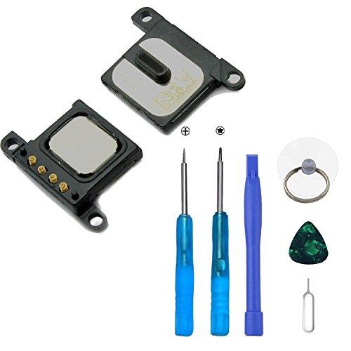Xlhama Haut Parleur Interne/Écouteur Interne(appels vocaux) de Rechange pour iPhone 6 avec Câble Flex Préinstallé Inclus Kit de Outils de Réparation pour Installation Facil