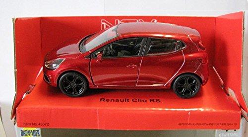 DieCast Welly Modellauto 1:36-39 Renault Clio RS rot neu und box