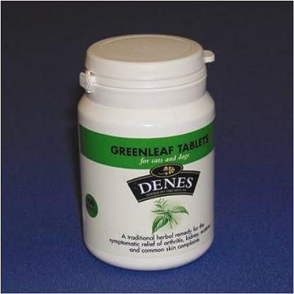 Denes Greenleaf Herbal 400 Tablets for Cats & Dogs 1