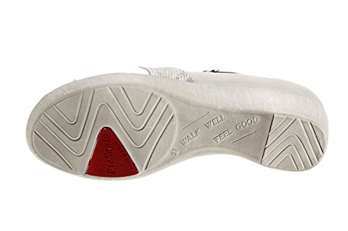 Komfort Damenlederschuh Piesanto 8160 schuhe herausnehmbaren einlegesohlen bequem breit Grau