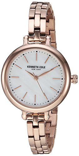 Kenneth Cole New York Women's Quartz Stainless Steel Casual Watch, Color:Rose Gold-Toned (Model: KC50065013)