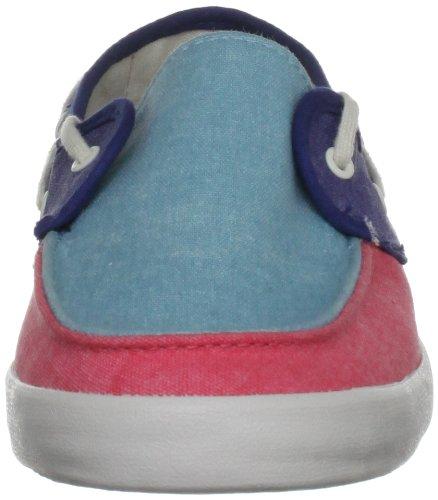 Vans  Chauffette,  Scarpe da skateboard donna Blu (Blau (Aqua Sea/Calypso Coral))
