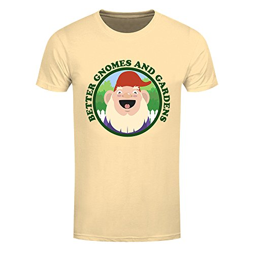 RealSlickTees Better Gnomes and Gardens Mens T-Shirt
