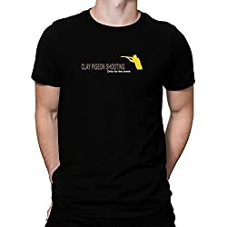 Teeburon Clay Pigeon Shooting Only for the brave Camiseta
