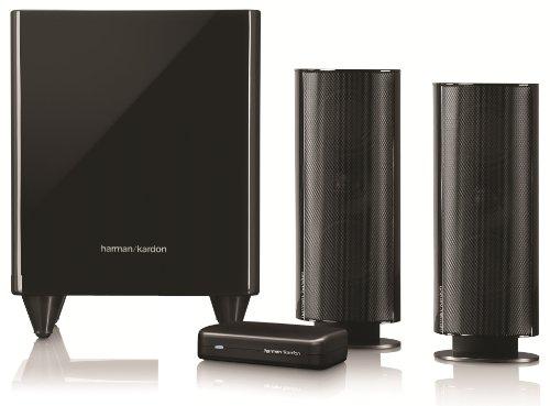 00 BQ W 2.1 Lautsprechersystem (300 Watt) mit drahtlosem aktiv-Subwoofer (200 Watt) schwarz ()