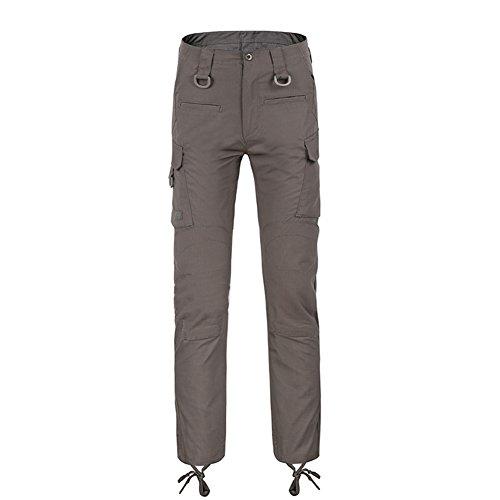 SANKE Men Twill Taktische Hose Ripstop Leichte Cargo Pants mit Multi Pockets (Groß-sport-twill-hose)