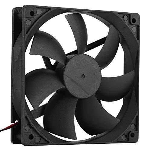 PC-CPU-Lüfter, einzigartiges Lüfterdesign, geräuscharmer Lüfter, extrem geräuscharm, mit hydraumatischem, stromsparendem Design, geringer Stromverbrauch für 12-cm-PC-Lüfter Tragbarer geräuscharmer int