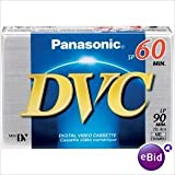 Panasonic ay-dvm60fe2b Blister de 2cintas min DV 60minutos calidad standard