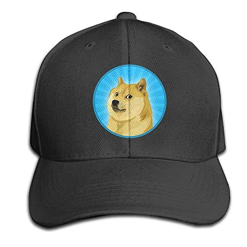 Unisex Peaked Cap Doge Head Funny Logo Baseball Hip-hop Caps Cotton Trucker Caps flexfit cap