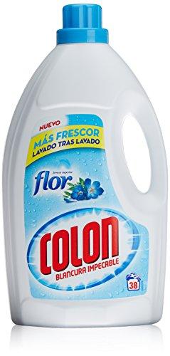 Colon Detergente liquido, 38 lavados Toque de Flor - 2588 ml