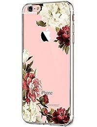 Vanki® Compatible pour Coque iPhone 5/5S/SE, TPU Souple Etui de Protection Silicone Case Soft Gel Cover Anti Rayure Anti Choc pour Iphone5/5S/SE