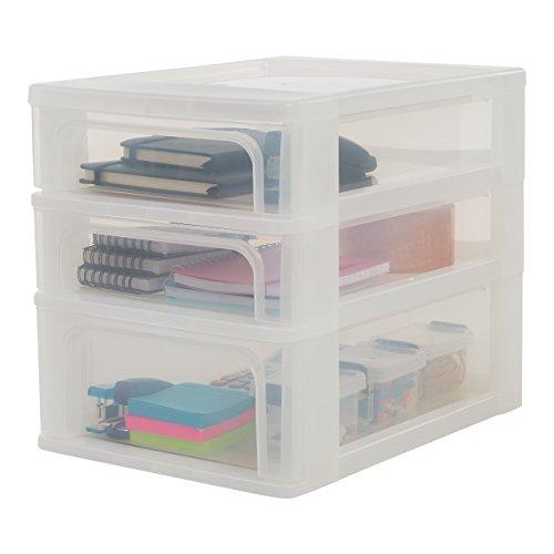 Iris-Tischschubladenbox-mit-4-Schubladen-mit-4-Schbeelement-ohne-Rollen