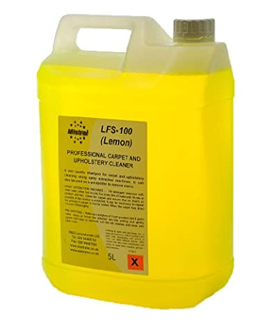 Professional Carpet & Upholstery Shampoo 20 Litres (4x5L) Concentrate - Compatible with all