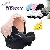 DOOKY HOODY Style UV+ - Parasole universale per seggiolino Maxi Cosi Cabrio/CabrioFix/Pebble/Citi, Römer e altri ovetti, gruppo 0+