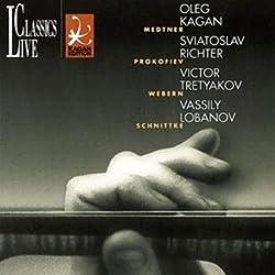 Oleg Kagan Edition Vol. 19 (Medtner, Prokofieff, Webern, Schnittke)