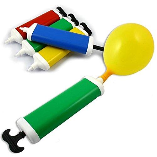Praktische Ballon-Pumpe, für müheloses Aufblasen von Luftballons, 27cm