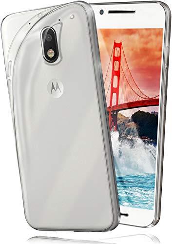 moex Lenovo Moto E3 | Hülle Silikon Transparent Klar Clear Back-Cover TPU Schutzhülle Dünn Handyhülle für Motorola Moto E3 Case Ultra-Slim Silikonhülle Rückseite