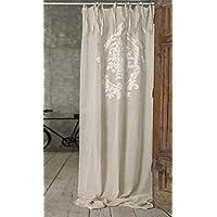 tende lino - blanc mariclo / Decorazioni per interni: Casa e cucina