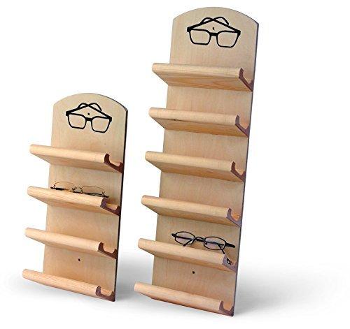 Sauna Classic Brillenhalter für 6 Brillen Brillenregal