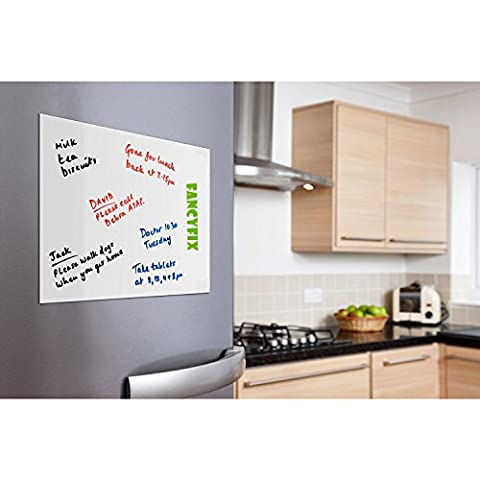 Whiteboard Sticker Wall Decal Contact Paper by FANCY-FIX 43cm x 200cm