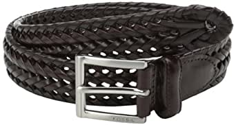 Fossil End of season style Myles Cognac Leather Men's Belt (MB4160222-34)