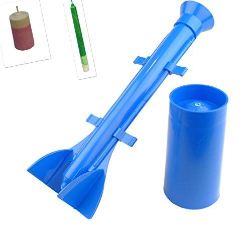 Giessform Set X 2, langem, konischem & Säule geformt. UK Hergestellt von Linic Kunststoffe. (s7512) versandkostenfrei innerhalb UK