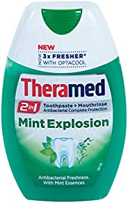 Theramed 2in1 Mint Explosion Toothpaste and Mouthrinse