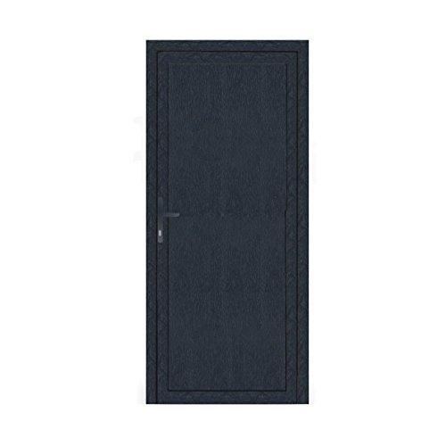 Nebeneingangstür - Komplettfüllung - anthrazit (RAL7016) - Innenöffnend - BxH: 1000 x 2200 mm - DIN Rechts
