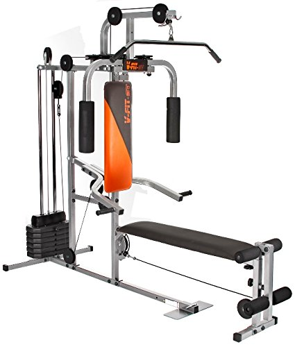 V-Fit LFG2 Herculean COBRA Lay Flat Home Gym 64kg