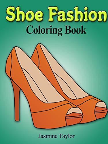 Shoe Fashion Coloring Book -
