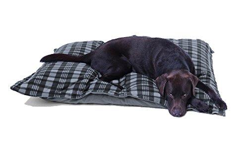 Hundebett XXXL grau, 120×100 cm, Hundekissen waschbar, Tier-Kissen - 2
