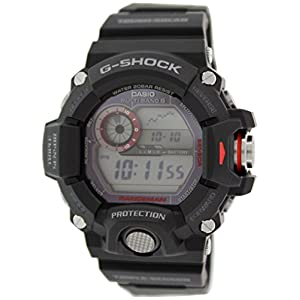 Casio Men's Digital Solar-Powered Watch with Resin Strap GW-9400-1ER
