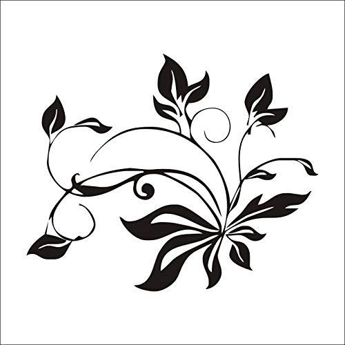 qweasdzx Wandaufkleber schönes Muster speisesaal Europa und Amerika tapete Dekoration wandbild 53,3 cm x 66,0 cm - Schönen Speisesaal Möbel