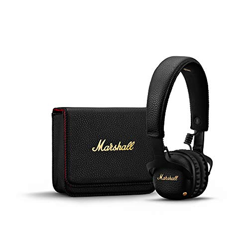 Marshall Mid ANC 04092138 Active Noise Cancelling On-Ear Wireless Bluetooth Headphone (Black) Image 2