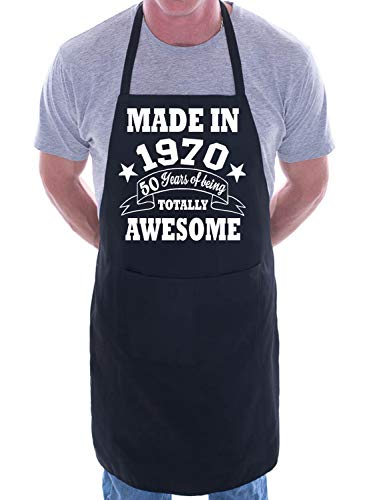 50th Birthday Made In 1970 BBQ Cooking Apron