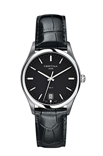 Gentlemen-WristWatch Leather Quartz Analog XL Certina C022 610.16.051.00.