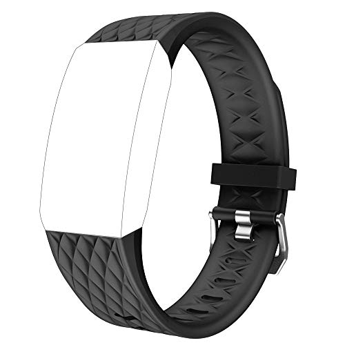 YAMAY Ersatz Armband für das SW358 Fitness Tracker (Schwarz)