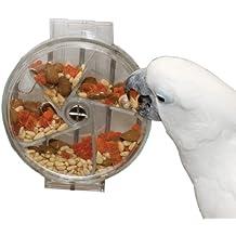 HappyBird ®   Versteck Rad treat Wheel für Papageien und Sittiche das Foraging Toy