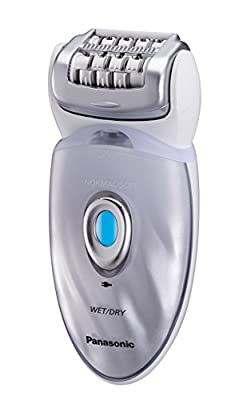 Panasonic ES-ED96 Wet & Dry Rechargeable Epilator/Deep Cleansing Legs, Face & Body 8 Attachments such as ; Fast Epilation, Sonic Facial Brush/ Sonic Scrub Brush / Foot care head etc. by Panasonic