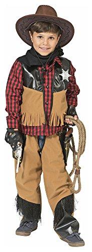 Cowboy Austin Kostüm für Kinder Gr. 128